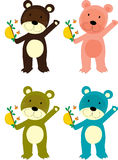 медведи Стоковое Изображение