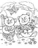 медведи 2 Стоковая Фотография RF