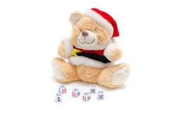 Медведь игрушки рождества Стоковое Фото