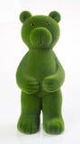медведь или медведь зеленого цвета на предпосылке Стоковая Фотография RF