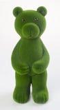медведь или медведь зеленого цвета на предпосылке Стоковые Изображения RF