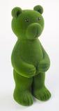 медведь или медведь зеленого цвета на предпосылке Стоковые Изображения