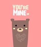 медведь милый Стоковое Изображение RF