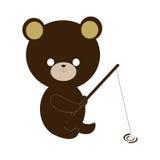медведь милый Стоковое Фото