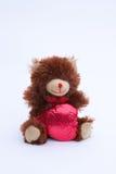 Медведь дня валентинок Стоковые Изображения