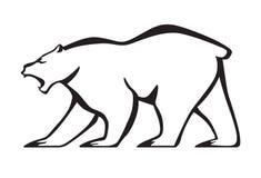 медведь реветь Стоковая Фотография