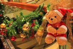 Медведь рождества Стоковые Изображения