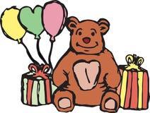 медведь счастливый Стоковые Фотографии RF