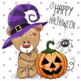 Медведь хеллоуина бесплатная иллюстрация