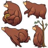 Медведь шаржа иллюстрация вектора