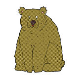 медведь шуточного шаржа смешной Стоковое фото RF
