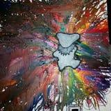 Медведь Crayon Стоковая Фотография RF