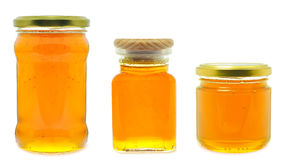 Мед в опарнике Стоковое фото RF