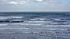 Медленные волны моря видеоматериал