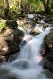 Медленный водопад Шотландия штарки стоковое фото rf