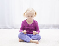 Медитация Стоковое Изображение