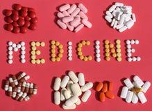 Медицина/капсулы и пилюльки Стоковое Изображение