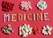 Медицина/капсулы и пилюльки Стоковое Фото