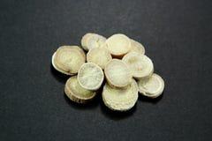 Медицина традиционного китайския - Baishao (белый корень пиона) Стоковая Фотография RF