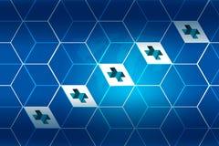 Медицинская абстрактная серия 11 концепции предпосылки Стоковое фото RF