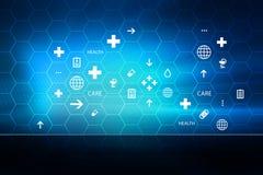Медицинская абстрактная серия 29 концепции предпосылки Стоковое фото RF