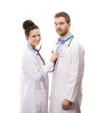 Медицинская бригада докторов стоковая фотография rf