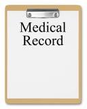 медицинская история Стоковое фото RF