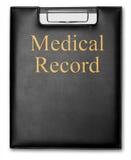 медицинская история Стоковые Изображения RF