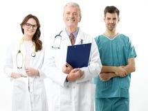 медицинская команда портрета Стоковая Фотография RF