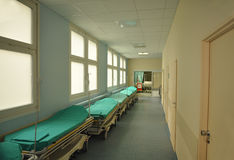 Корридор больницы Стоковые Фото