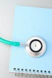Медицинская концепция стетоскопа. Стоковое фото RF
