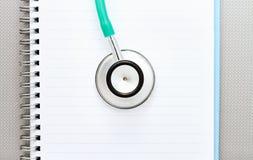 Медицинская концепция стетоскопа. Стоковые Фотографии RF