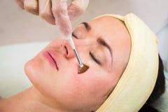 Медицинская косметическая процедура стоковая фотография rf