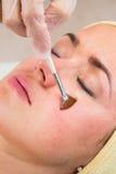 Медицинская косметическая процедура стоковые фотографии rf