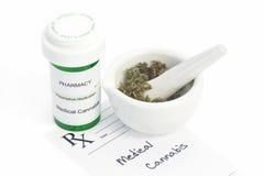 Медицинская марихуана Стоковое Изображение RF