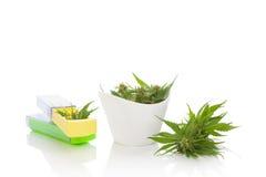 Медицинская марихуана Стоковые Изображения RF