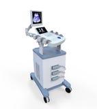 Медицинская машина диагностики ультразвука Стоковое Изображение