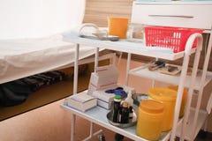 Медицинская подвижная уход за больным-таблица Стоковая Фотография