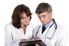 медицинская практика Стоковые Фотографии RF