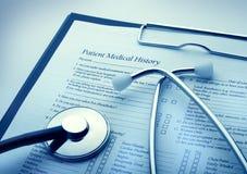 Медицинская принципиальная схема Стоковые Изображения RF