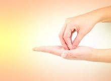 Медицинская серия жеста рукой мытья Стоковое Изображение