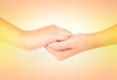 Медицинская серия жеста рукой мытья Стоковое Фото