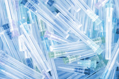 Медицинские иглы в куче Стоковое Фото