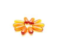 Медицинские пилюльки, капсулы или дополнения для обработки и здоровья Стоковая Фотография RF