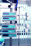 Медицинские приборы в ICU стоковое изображение rf