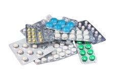 медицинские таблетки комплекта Стоковые Фотографии RF