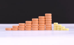 Медицинские таблетки Стоковое Изображение