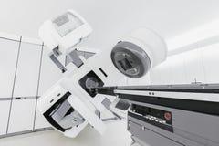 Медицинский линейный акселератор стоковая фотография rf