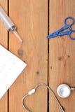 Медицинский материал стоковые изображения rf