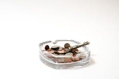 Медицинский: схематический прекращенный курить Стоковые Фото